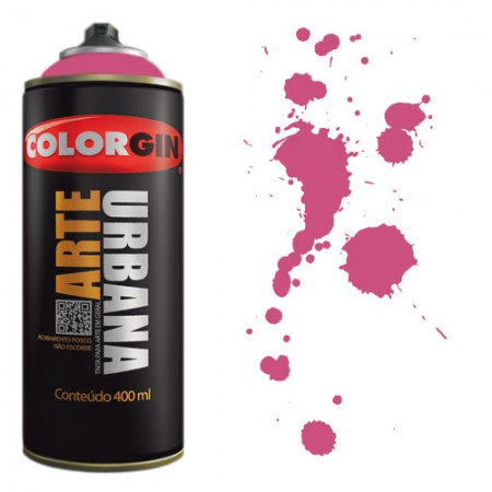 Spray Colorgin Arte Urbana 400ml - 918 Magenta  - foto principal 1
