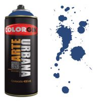Spray Colorgin Arte Urbana 400ml - 925 Azul Netuno