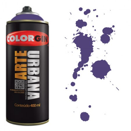 Spray Colorgin Arte Urbana 400ml - 927 Azul Mackenzie  - foto principal 1