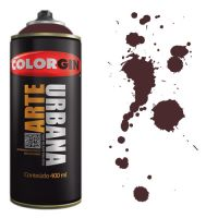 Spray Colorgin Arte Urbana 400ml - 929 Marrom Café