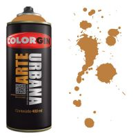 Spray Colorgin Arte Urbana 400ml - 931 Caramelo