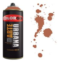 Spray Colorgin Arte Urbana 400ml - 932 Cacau