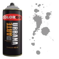 Spray Colorgin Arte Urbana 400ml - 933 Cinza Carrara