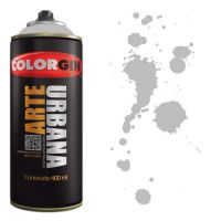Spray Colorgin Arte Urbana 400ml - 934 Cinza Claro