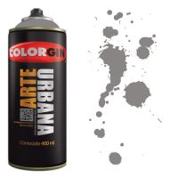 Spray Colorgin Arte Urbana 400ml - 935 Cinza Londres