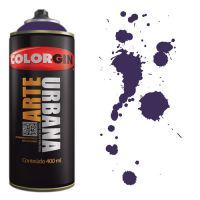 Spray Colorgin Arte Urbana 400ml - 937 Violeta Cosmos
