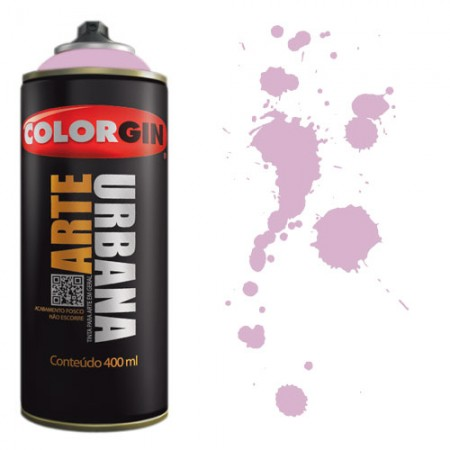 Spray Colorgin Arte Urbana 400ml - 939 Violeta Claro  - foto principal 1