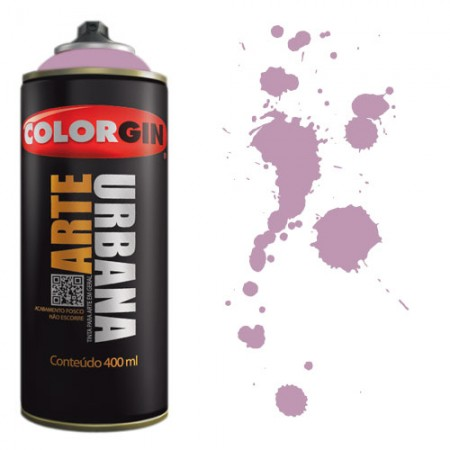 Spray Colorgin Arte Urbana 400ml - 940 Lilás  - foto principal 1