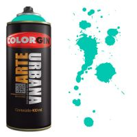 Spray Colorgin Arte Urbana 400ml - 911 Verde Mata