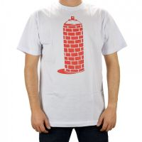 Camiseta Grapixo Spray Wall - Branca