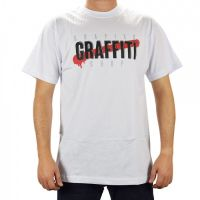 Camiseta Grapixo Graffiti Shop - Branca