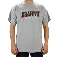 Camiseta Grapixo Graffiti Shop - Mescla