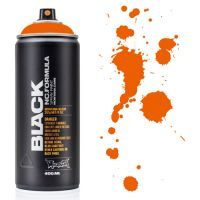 Spray Montana Black 400ml - BLKP2000 Power Orange
