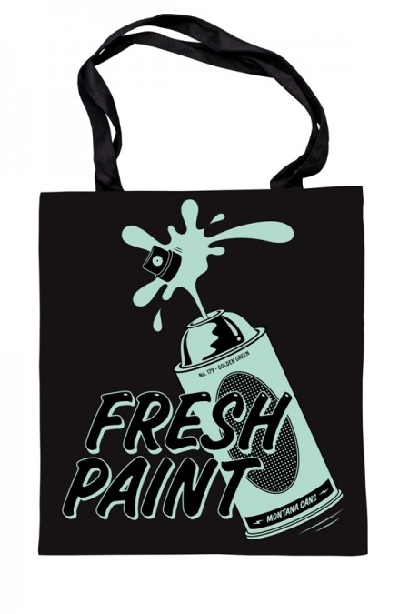 Montana Cotton Bag - Fresh Paint by Golden Green  - foto principal 1