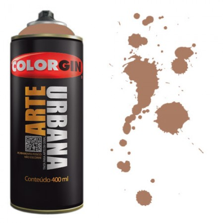 Spray Colorgin Arte Urbana 400ml - 951 Madeira  - foto principal 1