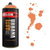 Spray Colorgin Arte Urbana 400ml - 967 Tangerina
