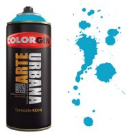 Spray Colorgin Arte Urbana 400ml - 965 Azul Celeste