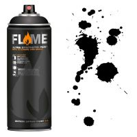 SPRAY FLAME ORANGE BLACK -FO904