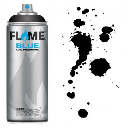 SPRAY FLAME BLUE DEEP BLACK-FB904  - foto principal 1