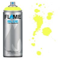 SPRAY FLAME BLUE FLUO YELLOW-FB1000