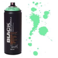 Spray Montana Black 400ml - BLK6220 Revolt Green