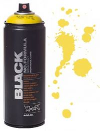 Spray Montana Black 400ml - BLK P1000 Power Yellow