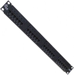 PATCH PANEL 24 PORTAS PACIFIC NETWORK CAT5e  - foto principal 1