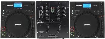 KIT DJ Gemini - CDJs 250 e Mixer PS2