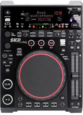 Player DJ Tabletop SKP USD 6010 / USB, SD, MIDI