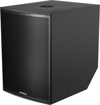 Subwoofer Ativo Attack VRS 1810A 1000Wts Rms