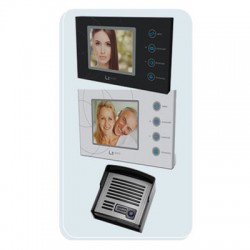VIDEO PORTEIRO COLOR COM TOUCH SCREEN - LIDER  - foto principal 3
