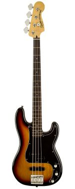 Squier VM Precision Bass PJ 3TS  com escala em Indian Laurel