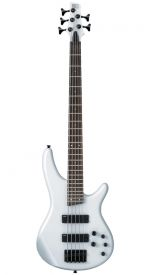 Ibanez SR255 5-String Bass Pearl White + Hard Case