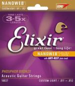 Elixir 16027 Custom Light / .011 - .052