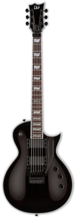 ESP LTD EC-401FR Black + Hard Case Custom