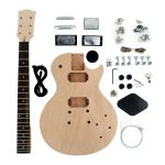 Kit de Guitarra Desmontada Les Paul HH Mogno SKU048