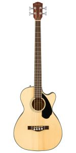 Fender CB-60SCE Natural Acoustic Bass