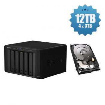 HD Externo Synology NAS 5-Bay - DS1517+ - 12TB