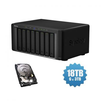 HD Externo Synology NAS 8-Bay - DS1817+ - 18TB