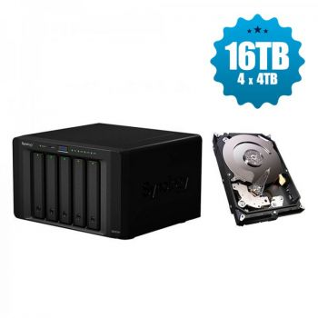 HD Externo Synology NAS 5-Bay - DS1517+ - 16TB