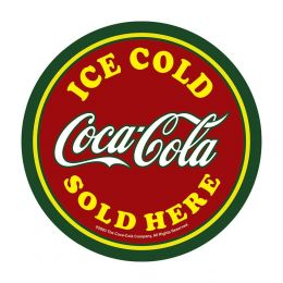 Placa Decorativa Coca Cola Ice Cold - PS