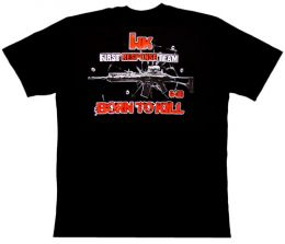 Camiseta HK G363 Born to Kill