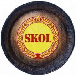 Barril Decorativo Grande - Skol