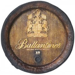 Barril Decorativo Grande - Ballantines