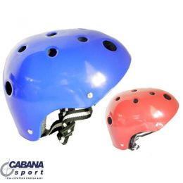 Capacete Adulto Azul M - Gold Sports