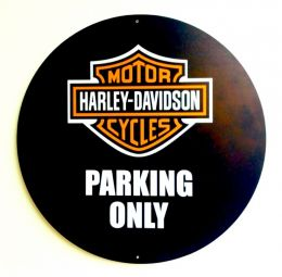 Placa Decorativa Harley Parking Only - PS
