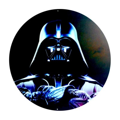 Placa Decorativa Darth Vader
