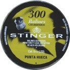 Chumbinho Stinger Hollow Point 5,5mm - Lata com 250 unidades