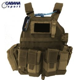 Colete Plate Carrier - Cyber X - Coyote