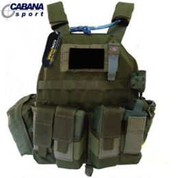 Colete Plate Carrier - Cyber X - Verde